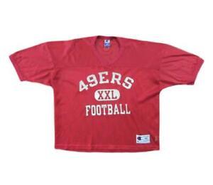 San Francisco 49ers Midriff Football Practice Jersey Champion Sz 48