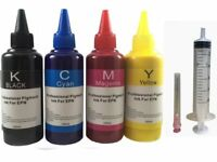 4x100ml Pigment Refill ink for Canon PG-240 CL-241 210XL 211XL PIXMA MG3620