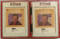 The Legendary Jim Reeves Vol's: I & II (2 - 8 Track Tapes) Brand New - DVS-0755