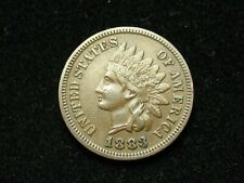 SUMMER SALE!! XF 1883 INDIAN HEAD CENT PENNY w/ DIAMONDS & FULL LIBERTY #32s