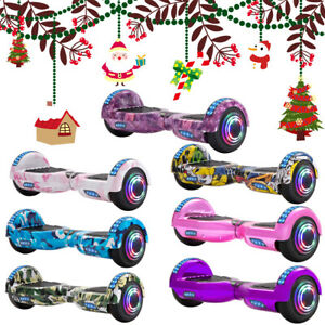 """Hoverboard 6.5"""" Self-Balancing Scooters Bluetooth LED Electric Scooter For Kids"""