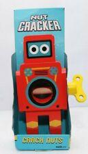 More details for suck uk robot nut cracker small red robot nut robots