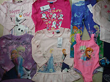 AMAZING FROZEN WINTER SUMMER NEW BUNDLE OUTFITS GIRL CLOTHES 3/4 YRS(2.5NR221