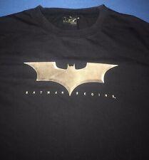 Batman Begins 2005 Mens Authentic T Shirt Size XL