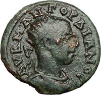GORDIAN III 238AD Edessa in Macedonia Rare ROMA Cult  Ancient Roman Coin i25214