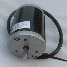 Y50 High-speed Brushed DC Motor 50W 12V 1650r/min Rated Current 6A