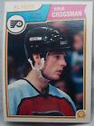 1983-84 OPC o-pee-chee Hockey Doug Crossman #263 Flyers lot of 2 9876A7