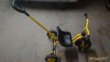 Triciclo con ruote gonfiabili, timone e blocca sterzo