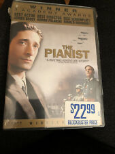 The Pianist Dvd (2003, Ws) Loaded w/Special Dvd Only Features - Factory Sealed