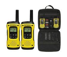 2 x Motorola TLKR T92 Licence-free Two Way Radios H20 Long Range 10km Twin