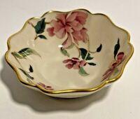 Vintage Lenox Barrington Jewelry Dresser Trinket Ring Bowl with Gold Trim USA