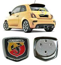 Fregio Stemma Emblema Baule Posteriore per FIAT ABARTH 500 595 695 Cromato