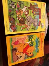 Lot Of 2 Sticker Fun Books Winnie The Pooh 1981 And Little Golden Book Land 1990