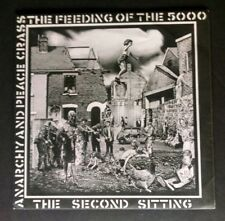 CRASS Feeding Of The 5000 The 2nd Sitting & Poster Sleeve