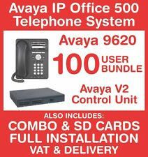 Avaya IP Office 500 Phone System (New with Refurb handsets) -100 user - Inc VAT
