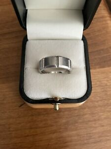 Jeff Cooper Mens Wedding Ring Platinum