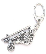 Showman Engine Handcrafted from Solid Pewter In the UK Key Ring
