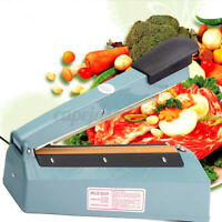 220v/240v Heat Sealer Hand Pressure 30cm Wrap Plastic Bag Closer Sealing Machine