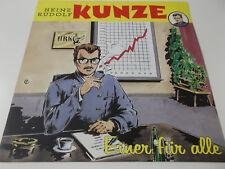 42588 - HEINZ RUDOLF KUNZE - EINER FÜR ALLE - 1988 WEA VINYL LP (OIS)