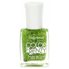 SALLY HANSEN Color Frenzy Textured Nail Color - Green Machine (Free Ship)