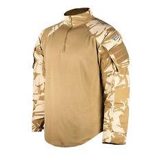 GENUINE British Wicking UBACS Shirt + Desert DPM Kneepads Knee Pads LOT SAS NEW