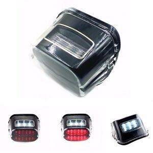 Feu stop LED pour Harley Road King Sportster FXDL FXST FLST FLHTC