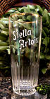 Rare Vintage STELLA ARTOIS 25cl Gold Foil Rim Pilsner Glass REIMS FRANCE EXCLNT!