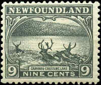 1923-24 Canada Mint NH Newfoundland 9c F+ Scott #138 Pictorial Issue Stamp