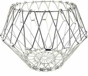 Gifts Folding Counter Wire Fruit -Vegetable-Bread Basket Household Items