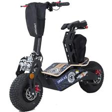 MotoTec Mad 1600w 48v Electric Scooter Fat Wheels Max Weight 310 lbs Headlights