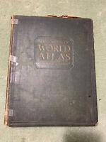 Vintage/Antique Rand McNally World Atlas Premier Edition - 1929 Copyright
