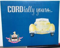 1970s Cord Automobile Company Dealer Sales Brochure Glenn Pray Sportsman 8/10