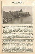 22 LE CAP FREHEL LE FORT DE LA LATTE ARTICLE DE PRESSE 1914