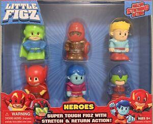 Little FIGZ Heroes - [BOLT, DAMASCUS, FIRE FIST, SO-LAR, AVEX-7, DEMO-Z] NEW 5+