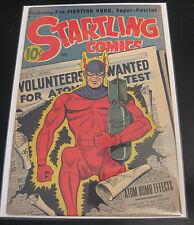 Holy Cow! STARTLING COMICS #41 1946, Atomic Bomb Cover! (VF) or (VF/VF+) HTF GEM