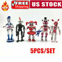 Five Nights At Freddy's Freddy Game PVC Action Figure Kids Toy Doll Gift 5 /6PCS