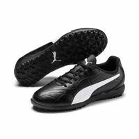 Puma Fußball Monarch TT Fußballschuhe Kinder schwarz weiß