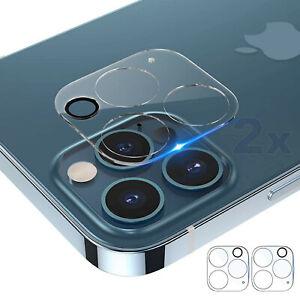 2 Stk Panzer Schutzglas Schutzfolie Kameraschutz für iPhone 12 Pro & 12 Pro Max