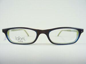 Kleine Damenbrille Designerfassung schwarz Jean Lafont mit schmalen Gläsern Gr.S