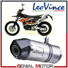 Exhaust Leovince Lv One Evo Stainless Steel Ktm 690 Enduro R 2009 > 2016