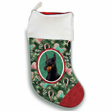 Doberman Pinscher Christmas Stocking