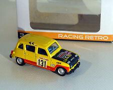 Renault 4, Rally, amarillo, NOREV, 1:64
