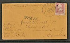 P.O.W. CIVIL WAR 1864 Cover JOHNSON'S ISLAND PRISON via Flag of Truce to N.C.