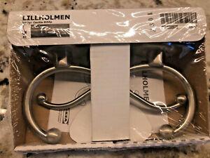 Ikea Lillholmen Wall Hook 2 Pack Double Towel Hook Hat Coat 401.493.96 Stainless