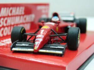 WOW EXTREMELY RARE Ferrari F310 Schumacher 17 Launch Maran 1996 1:64 Minichamps