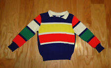 Perma Prest Winnie the Pooh Sears Sweater Size 3 35 1/2 to 38 Striped Vintage