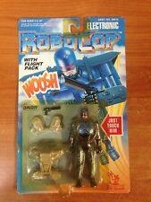 Vintage 1993 Electronic Robocop Action Figure with Flight Pack MOSC