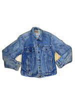 Levis Womens Size 42 Distressed Button Up Jacket Made In The USA