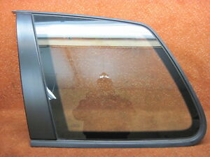 7L6845297AS Side Window Rear Left Black Matte VW Touareg 7L