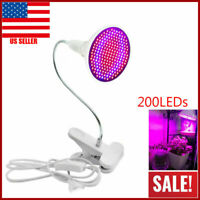 LED Grow Light 200LED UV IR Growing Lamp for Indoor Plants Hydroponic Plant